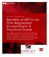 Benefits of ERP in an FDA-Regulated Environment