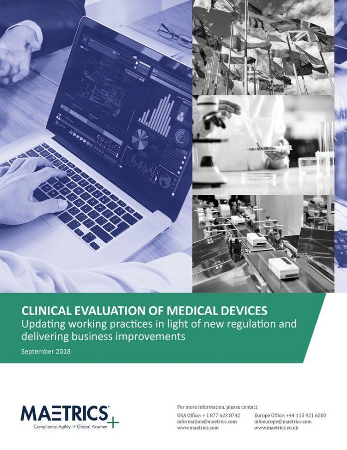Livre blanc sur les rapports d'évaluation clinique dans l'industrie des DM