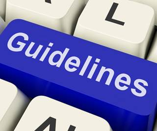 International scientific guidelines adopted in Australia